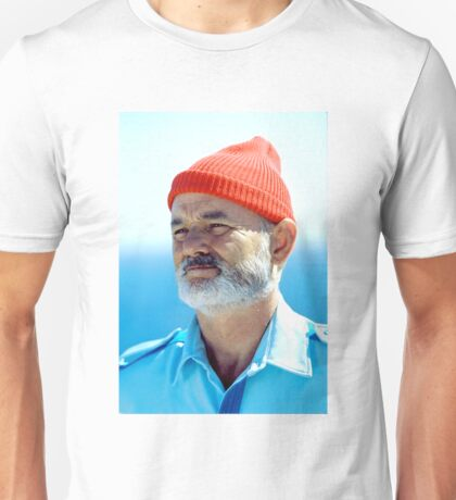 Bill Murray as Steve Zissou  Unisex T-Shirt