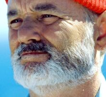 Bill Murray as Steve Zissou  Sticker