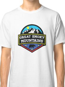 GATLINBURG TENNESSEE GREAT SMOKY MOUNTAINS NATIONAL PARK SMOKIES 5 Classic T-Shirt