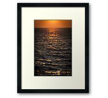 Baltic Sea Evening Framed Print