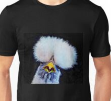 Fancy Chickens:  Who Got First Place?!  That Hussy! Unisex T-Shirt