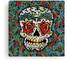 'Sweet Sugar Skull #1 Canvas Print