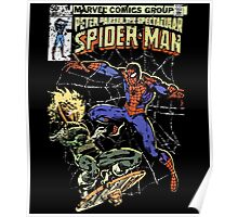 Spider-Man vs Jack-O-Lantern Poster