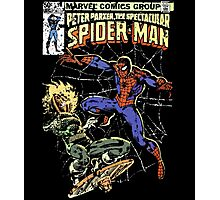 Spider-Man vs Jack-O-Lantern Photographic Print