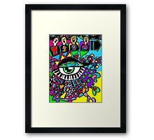 Form Follows Function - (Dynamite Fresh version) (Heartbreak Relapse 12) Framed Print