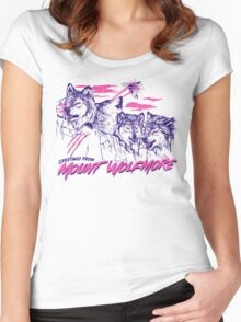 Mount Wolfmore Women's Fitted Scoop T-Shirt