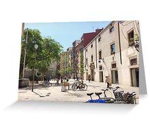 Barcelona - Ciutat Vella Greeting Card
