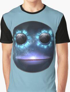 Smile Face Duck Galaxy. VividScene Graphic T-Shirt