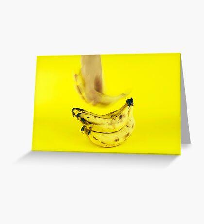 Grab a banana Greeting Card