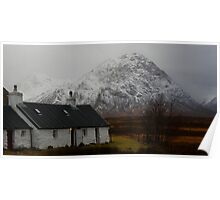The Buachaille and Blackrock Cottage Poster