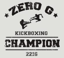 Red Dwarf Zero G Kickboxing by atomicgirl