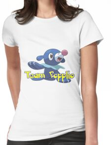 Team Popplio!  Womens Fitted T-Shirt