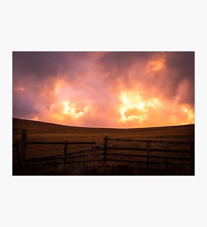 Heaven's Fence Photographic Print