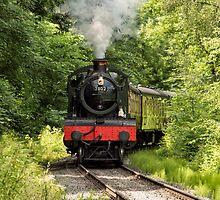 7802 Steam Locomotive by alan tunnicliffe