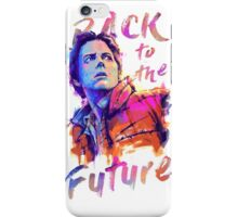 Marty in color iPhone Case/Skin