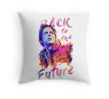 Marty in color Throw Pillow