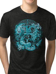 Not Afraid (cool tones) Tri-blend T-Shirt