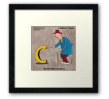 The Old Man And The C Framed Print