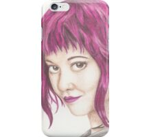 Pink Haired Ramona iPhone Case/Skin