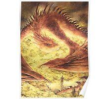 Sleeping Smaug Poster