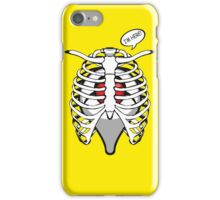 i'm here pocket ball tumor live in your body pokeball gps location iPhone Case/Skin