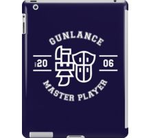 Gunlance - Master Player iPad Case/Skin