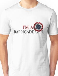 Barricade Girl Unisex T-Shirt
