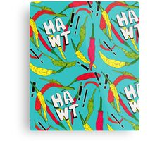 Hawt Chillies Metal Print