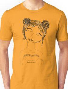 Lil face tat space buns  Unisex T-Shirt