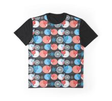 Pattern funny fox Graphic T-Shirt