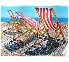 Summer Sea Breeze Poster