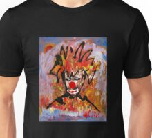 Clowning around with a landscape by Darryl Kravitz Unisex T-Shirt