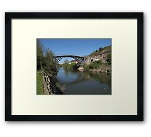 The Ironbridge Shropshire view 6 Framed Print