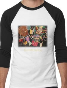 Kandinsky - Composition No. 10 Men's Baseball ¾ T-Shirt