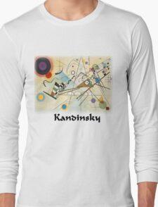 Kandinsky - Composition No. 8 Long Sleeve T-Shirt