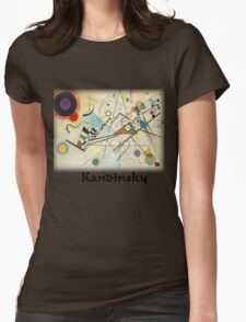 Kandinsky - Composition No. 8 Womens Fitted T-Shirt
