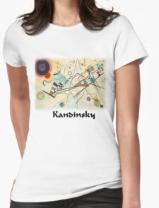 Kandinsky - Composition No. 8 Womens Fitted T-Shirt