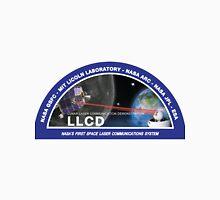 Lunar Laser Communications Demonstration (LLCD) Logo Unisex T-Shirt