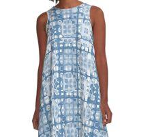 03Blue A-Line Dress