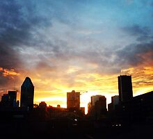Montreal Sunset by MsLoriGD