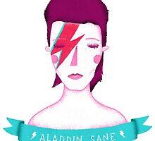 David Bowie by Paula García