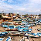 Engabao Beach, Ecuador by Paul Wolf