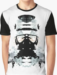 Rorschach Robocop Graphic T-Shirt