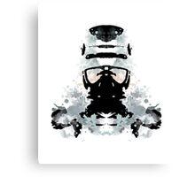 Rorschach Robocop Canvas Print