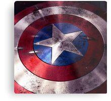 Shield Captain Metal Print