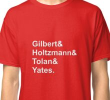 GhostBusters LineUp Classic T-Shirt