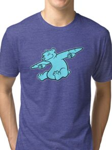 Bearplane Tri-blend T-Shirt
