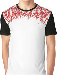 11 - Апосепсия (Technical Brutal Death Metal / Goregrind) Red logo Graphic T-Shirt