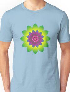 Retro Mandala Flower Power Unisex T-Shirt