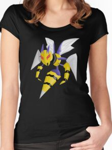 Pokemon Mega Beedrill Women's Fitted Scoop T-Shirt